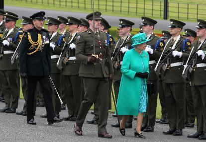 queen elizabeth visits ireland